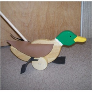 duck on a stick