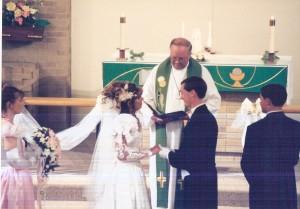 All wedding photos were taken by Clint Burhans of Midland, Michigan.